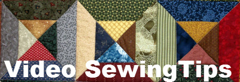 Three Sewing Videos For Your First Quilts